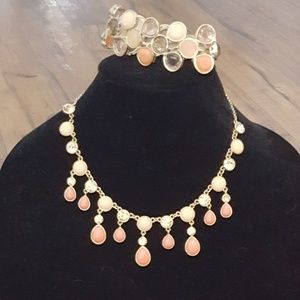 Vintage - Trifari Necklace & Bracelet Set